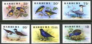 Barbuda 238-243 tropical fish   MNH mint      (Inv 001479.)