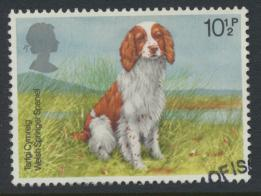 Great Britain  SG 1076 SC# 852 Used / FU with First Day Cancel - Dogs