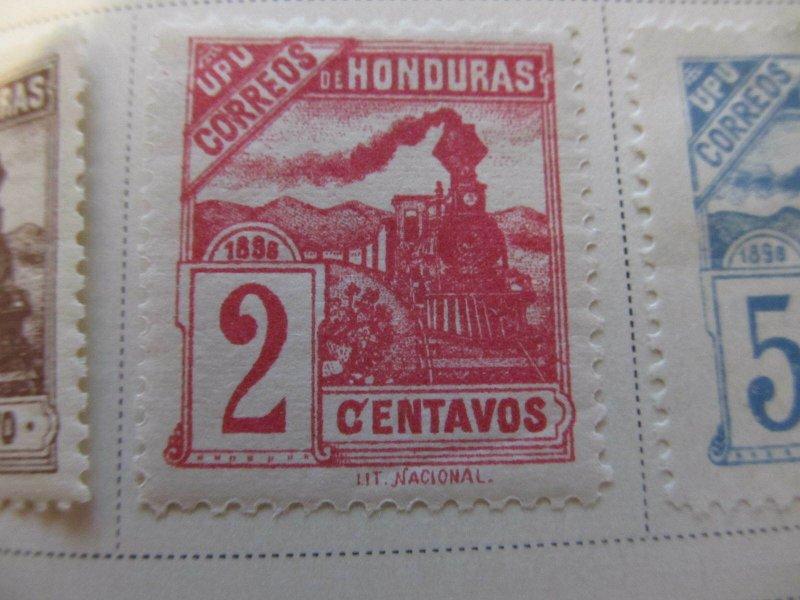 Honduras 1898 2c fine mh* stamp A11P12F29