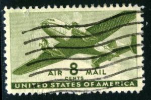 United States #C26, USED - 1944 - USA656