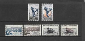 PENGUINS, SEALS - FRENCH SOUTHERN ANTARCTIC TERRITORY #2-7  MLH