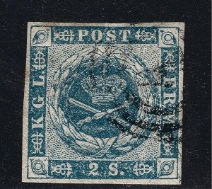 Denmark Nice SC #3 F-VF Used hr SCV$60...Such a Deal!