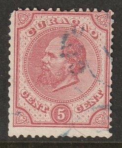 Netherlands Antilles 1881 Sc 3 used