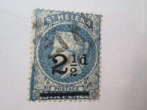 Saint Helena #47 used  2019 SCV = $6.75