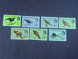 BRITISH HONDURAS # 167a-175a-MINT/NEVER HINGED--COMPLETE SET---BIRDS--QEII--1967