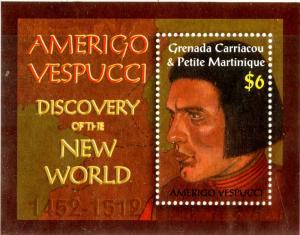 GRENADA CARRIACOU 2407 MNH SCV $4.50 BIN $22.50