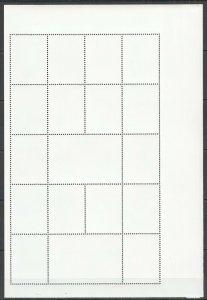 QF1332 MONGOLIA MILLENNIUM OF EXPLORATION CHARLES DARWIN 1809-1882 SH MNH