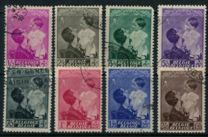 Belgium #B189-96 CV $12.95 used semi-postal complete set