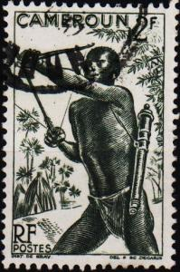 Cameroun. 1946 2f. S.G.241 Fine Used