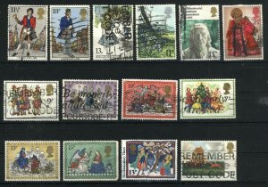 Great Britain (14) differemt used VF  PD