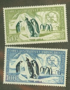 A: French Southern & Antarctic Territories C1-2 MNH CV $77.50