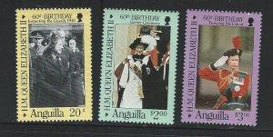 Anguilla   mnh sc  674 - 676