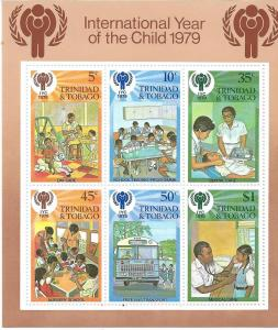 Trinidad & Tobago #1979 Year of the Child S/S (MLH) CV $2.00