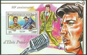 Niger MNH S/S Elvis Presley 2015