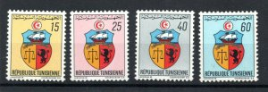1969 - Tunisia - Tunisie - Coat of Arms - Armoiries - Complete set 4v.MNH**