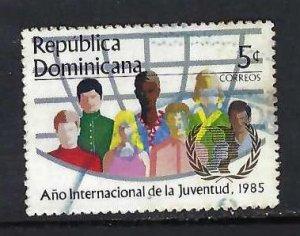 DOMINICAN REPUBLIC 941 VFU N644-9
