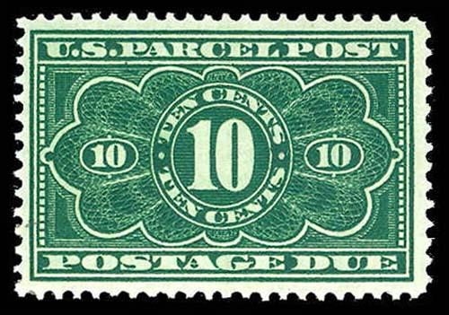 U.S. PARCEL POST DUE JQ4  Mint (ID # 74346)