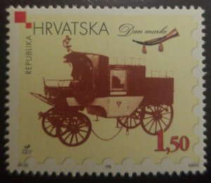 O) 1998 CROATIA, STAMP DAY, DAN MARKE, OLD AUTOMOVIL - CAR, SC 377, MNH