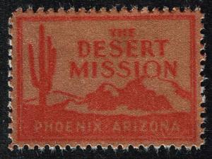 US STAMP Desert Mission TB Charity Seal Collection MNH/OG STAMP LOT #8