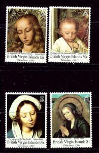 Virgin Is 731-34 MNH 1991 Christmas