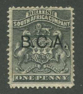 BRITISH CENTRAL AFRICA #1 USED