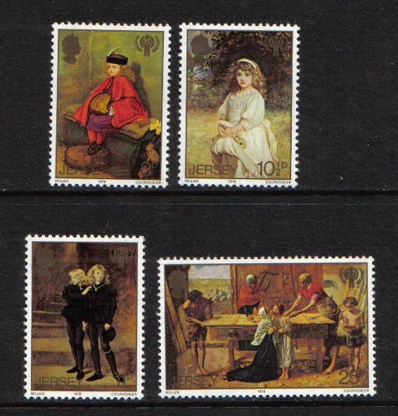 Jersey  1979  MNH  Sir John Millais   Int  year of the child