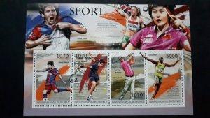 Burundi 2012. - Sport 2 ** MNH Souvenir sheet (perforated)