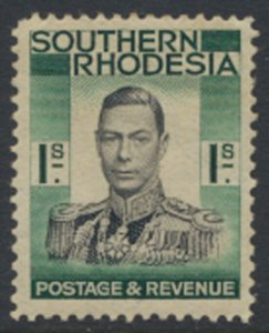 Southern Rhodesia  SG 48   SC# 50  Mint light trace of Hinge    see scans