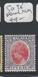 MALAYA PERAK  (P0502B)  SULTAN 40C  SG SG 98 MOG
