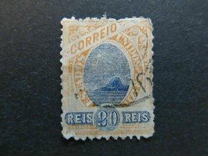 A4P32#37 Brazil 1894-97 Unwmk 20r used