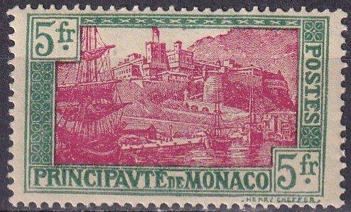 Monaco #91 F-VF Unused CV $8.50 (Z4330)