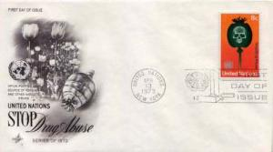United Nations, First Day Cover, Medical
