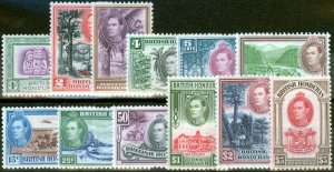 British Honduras 1938 set of 12 SG150-161 V.F MNH