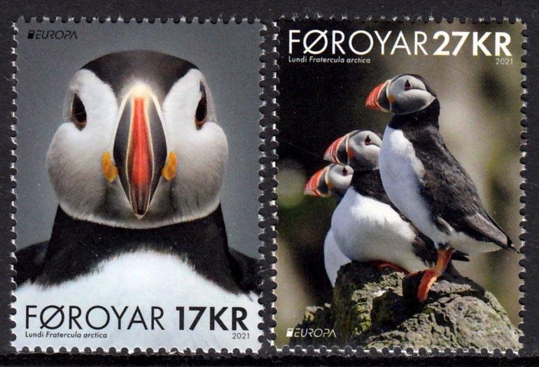 FAROE ISLANDS 2021 EUROPA CEPT BIRDS OISEAUX VOGEL UCCELLO [#2108]