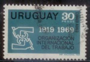 Uruguay 1969 SC# C352 Used L394