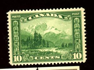 Canada #155 MINT F-VF OG NH Cat $43