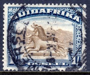 South Africa - Scott #29b - Used - Heavily hinged, crease LL - SCV $2.75