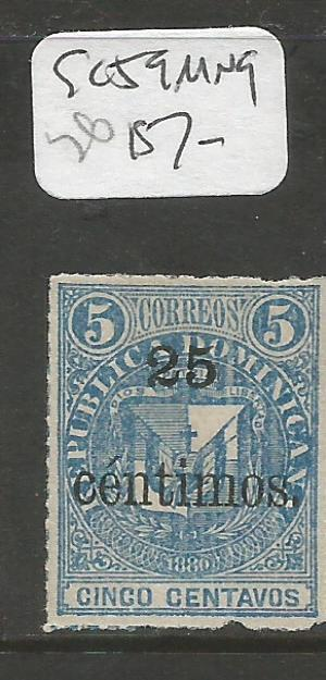 Dominican Republic SC 59 MNG (9chf)
