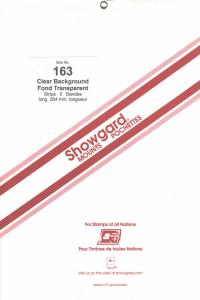 SHOWGARD CLEAR MOUNTS 264/163 (5) RETAIL PRICE $14.95