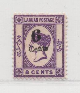 Malaya Labuan - 1891-92 - SG34g - 6c on 8c - MNH #689