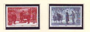 Norway Sc 805-6 1982 Europa stamp set mint NH