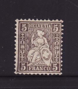 Switzerland 43 MHR Helvetia Seated (C)