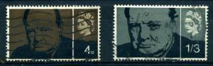 Great Britain - Elizabeth II - Scott #420-421 - Used