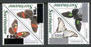 Suriname 1088-1091 as 1089a, 1091a cv $15.75  MNH mint      (Inv 001316.)