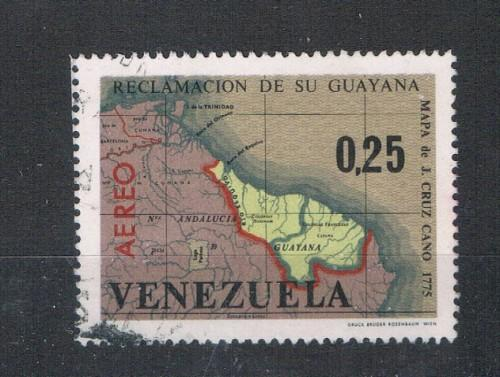 Venezuela #C905 Used Maps of Venezuela (V0490)