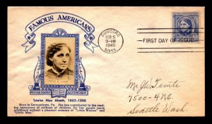 US SC# 862 FDC / Crosby Cachet / Large Photo / MASS CDS - L8246