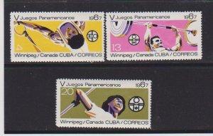 CUBA STAMPS 1241-43-44 MNH  LOT#107
