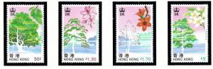 Hong Kong 523-26 MNH 1988 Trees