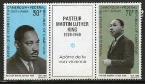 Cameroun 1968 Martin Luther King Nobel Prize Winner Apostle of Non-Violence S...