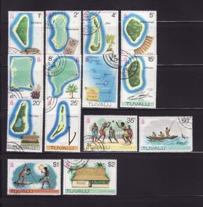 Tuvalu 23-36 U Various (D)